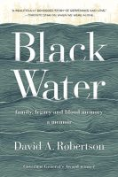 Non-fiction - Black Water (David A Robertson)