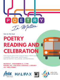 Poetry in Motion celebration 2019